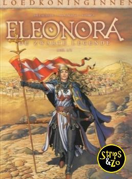 Bloedkoninginnen 5 - Eleonora 3 - De zwarte legende 3