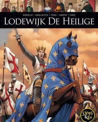 Zij schreven geschiedenis 11 - Lodewijk de Heilige