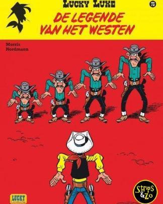 lucky luke 73 De legende van het Westen