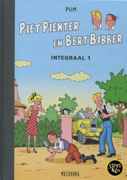 Piet Pienter en Bert Bibber Integraal 1 Luxe scaled