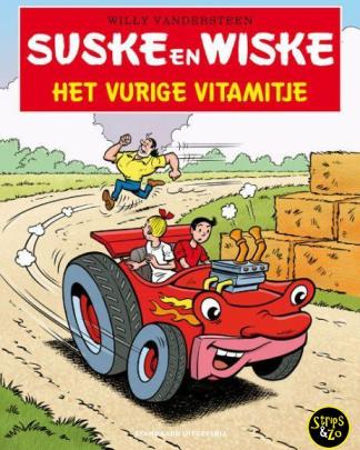 suske en wiske in het kort 16 Het vurige Vitamitje