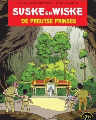 Suske en Wiske De preutse prinses luxe op groot formaat scaled