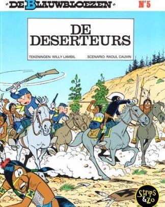 Blauwbloezen 5 De deserteurs