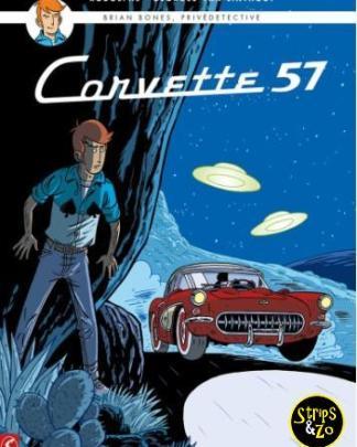 Brian Bones Privedetective 3 Corvette 57