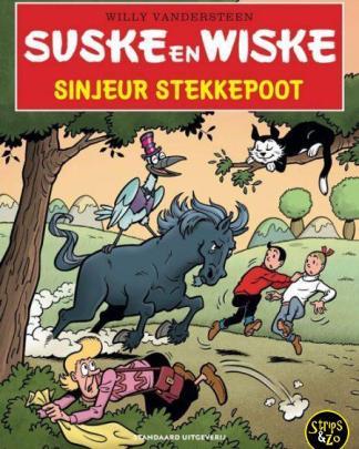 Suske en Wiske in het Kort 25 Sinjeur Stekkepoot
