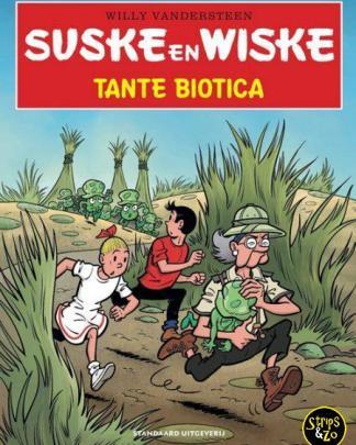 Suske en Wiske in het Kort 26 Tante Biotica