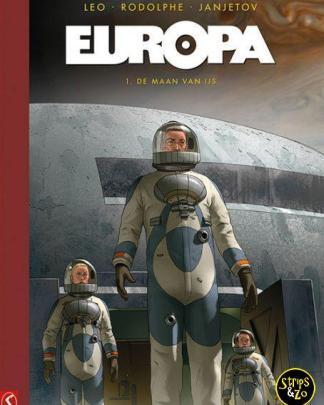 Europa Collectors Edition 1 De maan van ijs