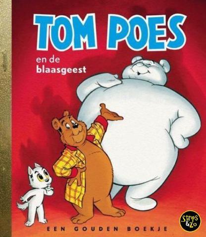 Gouden Boekje een Tom poes en de blaasgeest