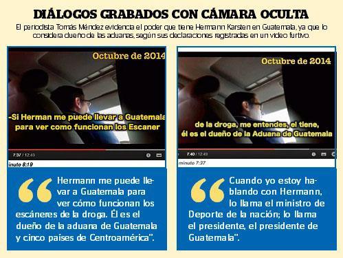 Flyer editado por Prensa Latina (Guatemala) donde hace referencia las acotaciones de Tomás Méndez sobre Kolektor y el país centroamericano.