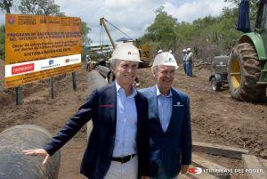 Mauricio Macri, Juan Schiaretti, José De la Sota, gasoductos troncales