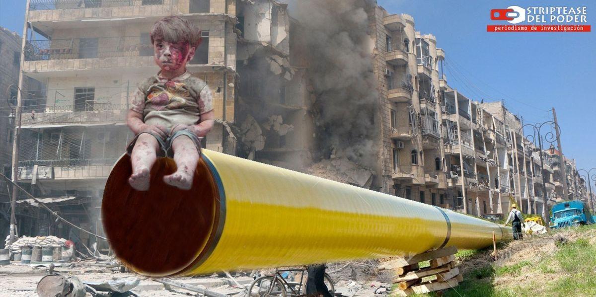 La demencial guerra de los gasoductos pasa por Siria, atizada desde Qatar y por Occidente