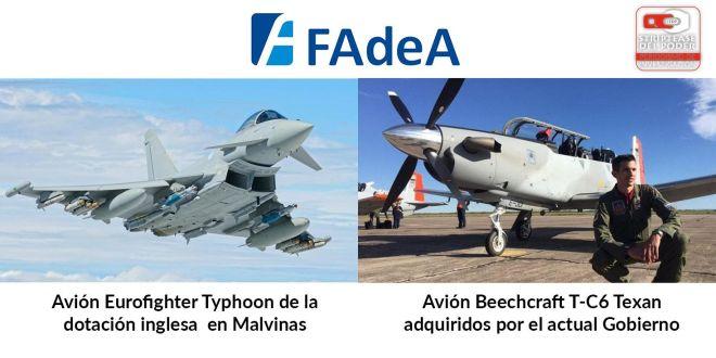 FAdeA, Macri, Aviones