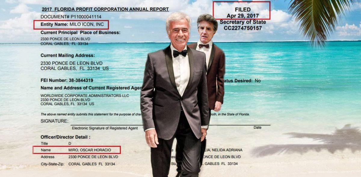 """EXCLUSIVO: Horacio Miró, señalado de ser """"testaferro"""" de De la Sota, tiene cuatro empresas offshore"""