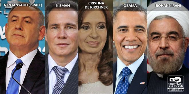 Claudio Bonadio, Fernández de Kirchner, Israel, Benjamín Nentanyahu, AMIA, OBAMA, Rohani, IRAN