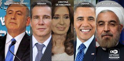 Nisman, Bonadio, Netanyahu, Rohani, Cristina Kirchner, Obama