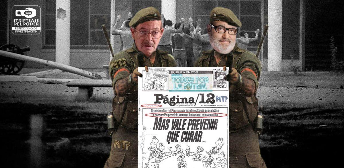 """Lanata, financiado en los 80 por Gorriarán Merlo-MTP, ahora califica de """"terroristas"""" a la RAM"""