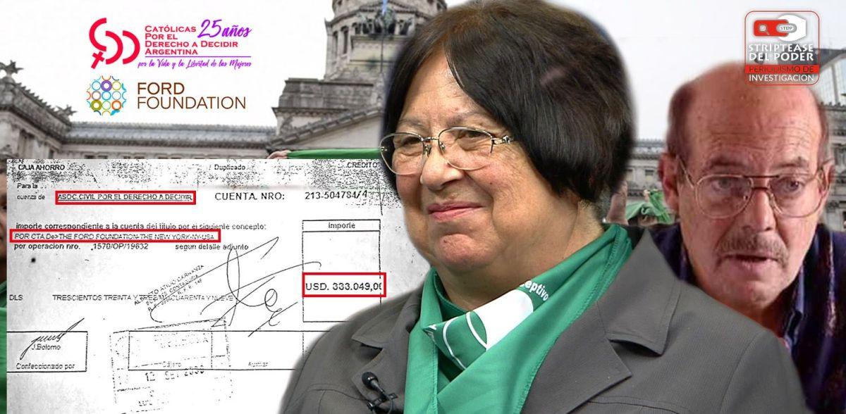 """Marta Alanís, del MTP y Gorriarán Merlo a CDD """"Católicas por el Derecho a Decidir"""" el aborto y la Fundación Ford y otras"""