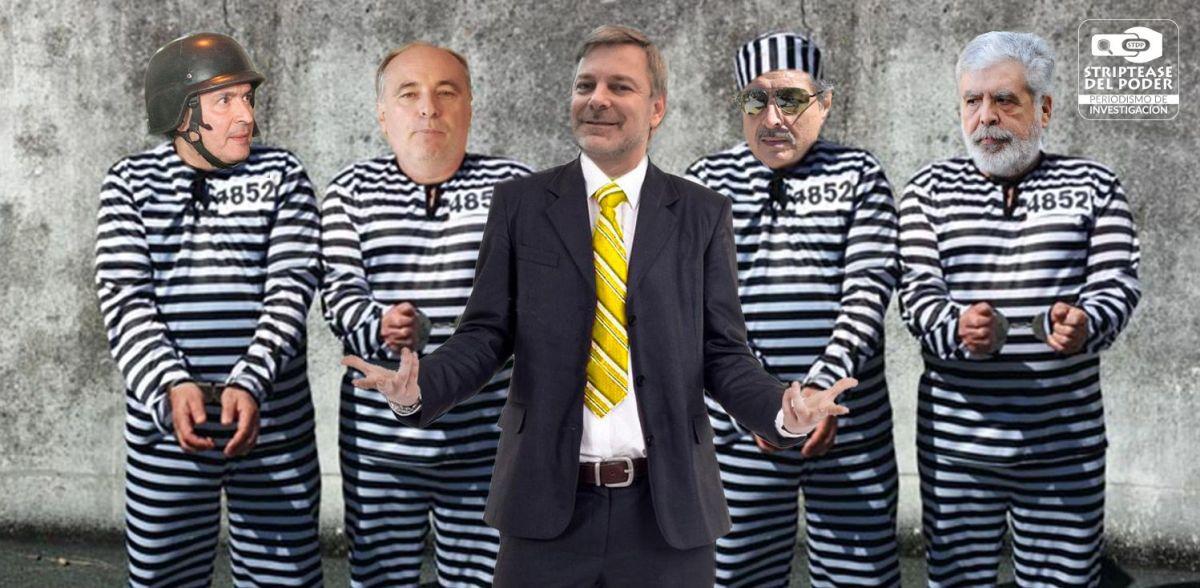 Los curros del diputado del PRO Pretto, presidente de la Comisión de Juicio Político, con De Vido, Kirchner, López, y Fernández