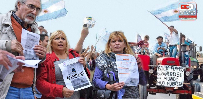 El megatarifazo del gas para pagar la deuda es la 125 de Macri, y la ...