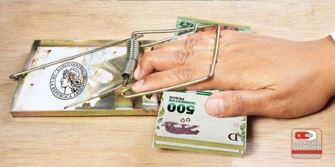 Banco Central, bancos, usura, gobierno nacional, tasa de interés, inflación, finanzas