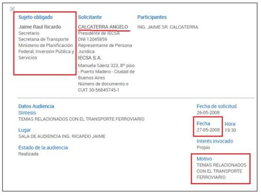 Isolux Corsán, Goycoechea, Calcaterra, Grupo Clarín, Panamá Papers, CUADERNOGATE, Stornelli y el juez Bonadio, Corrupción, Obras publicas, Sobornos, Coimas, Cuadernos, Isolux, IECSA, Macri, Soterramiento, Sánchez Caballero, CEOs de IECSA, con Kirchner, De Vido, Baratta y Jaime