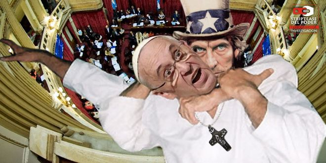 Papa Francisco, Macri, Magnetto, CEO del Grupo Clarín, aborto, Iglesia Católica, EEUU, Vaticano, Senado, 8 de agosto, Ley de aborto legal, seguro y gratuito