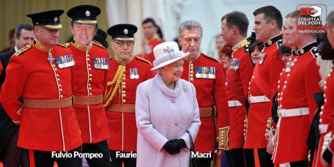Macri, Fulvio Pompeo, Faurie, Malvinas, I Reino Unido, Bolsonaro, Brasil, Vuelos, Reina, Majestad Británica la reina Isabel II