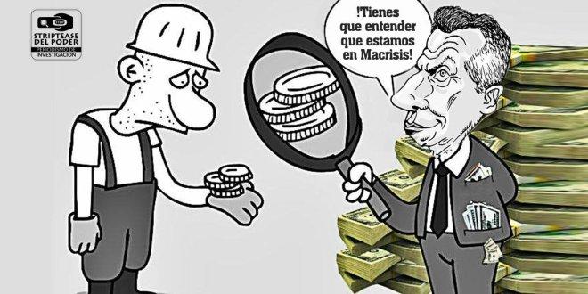 Macri, Macrisis, la marcha del millón o medio millón, 500.000 millones de pesos, INDEC, Hodd Robin, pobreza cero, Pobres, Pobreza