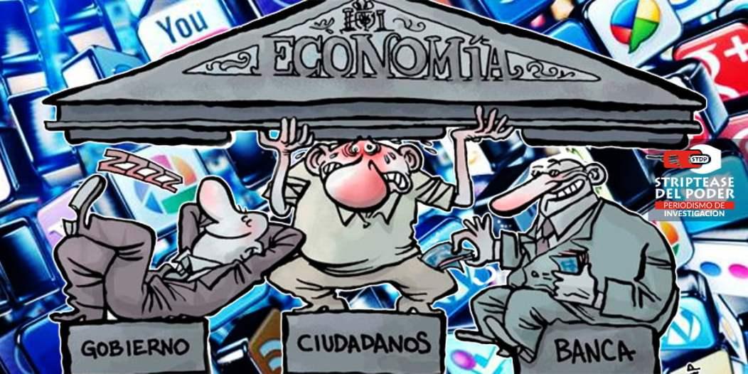 medios de comunicación, pautas, redes sociales, economías, gobierno, banca, mercadocracia