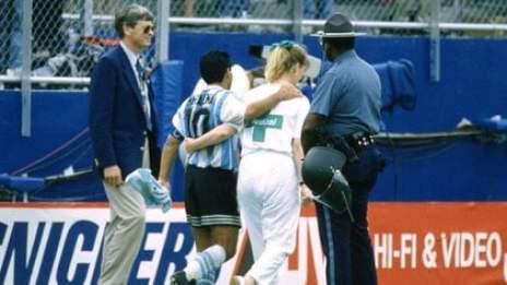 Diego Maradona rey David