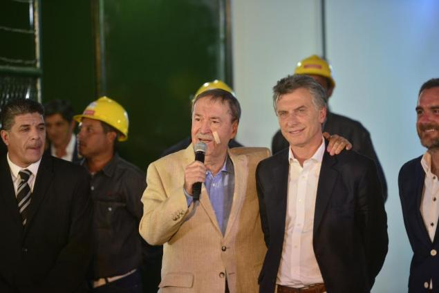 Mauricio Macri, Juan Schiaretti, José Manuel de la Sota, gasoductos troncales