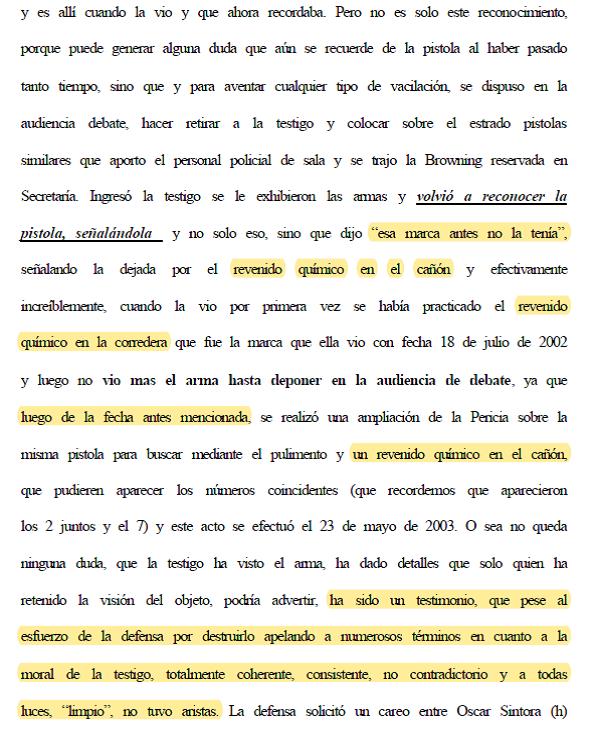 Caso Maders, Hugo Sintora, justicia Córdoba