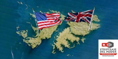 Malvinas, guerra 1832, EEUU, RU, Inglaterra, USS Lexington