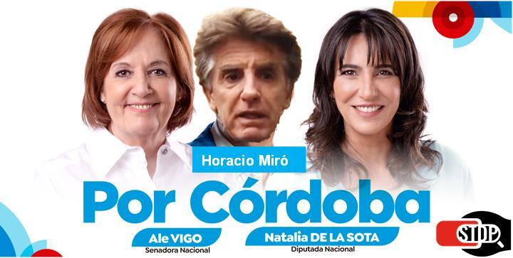 Horacio Miró, Natalia De la Sota, cordobesismo