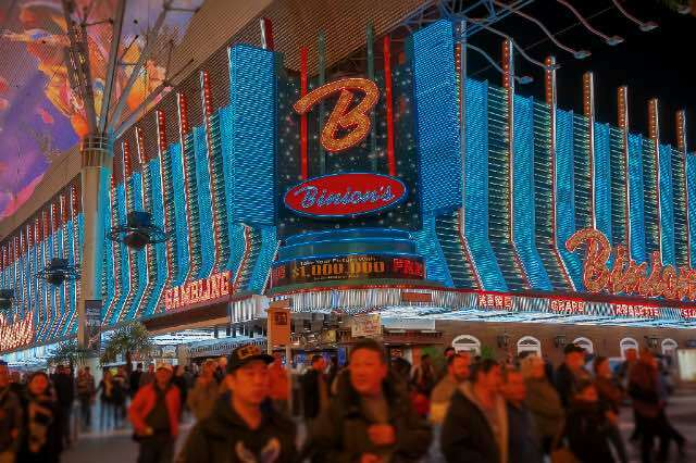 Binions Casino Fremont Street Las Vegas 640426