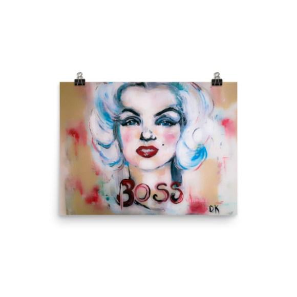 Image of Marilyn Monroe - Poster
