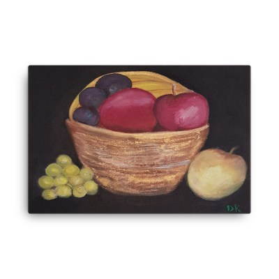 Image of Fruitfull 24 x 36 Canvas by Deborah Kala