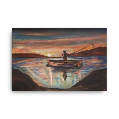 Image of Solitude 24 X 36 canvas by artist Deborah Kala