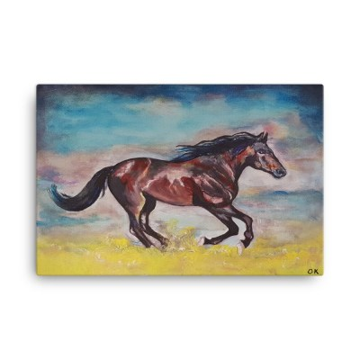 Image of Thunderbolt 24 x 36 Canvas by Deborah Kala