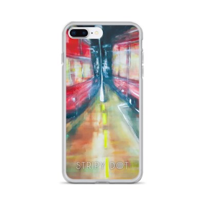 image of London buses iphone case
