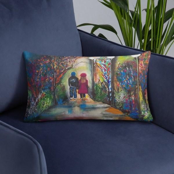 Image of Open Hearts - Luxury Pillow by Deborah Kala