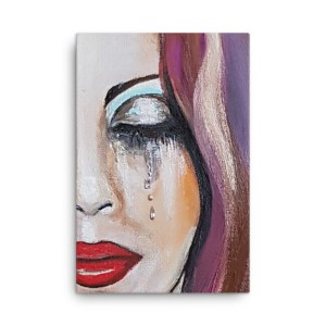 Image of Tear Drops - Canvas by artist Deborah Kalavrezou