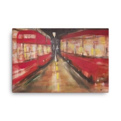 "Image of Anticipation - 24"" x 36"" Canvas by artist Deborah Kal"