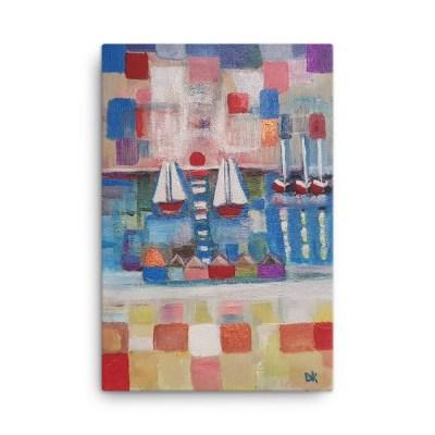 "Image of PuzzleOfLife - 24"" x 36"" Canvas - By artist Deborah Kala"