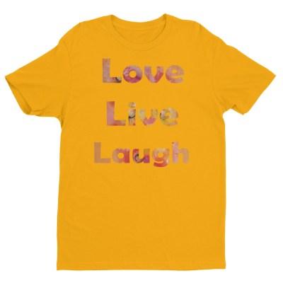 Image of LiveLoveLaugh - by our own artist Deborah Kala(yellow)