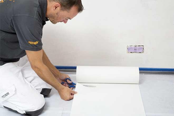 Flieslinic duvar kağıdı döküm