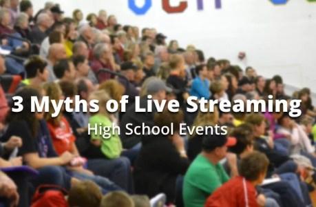 live streaming myths