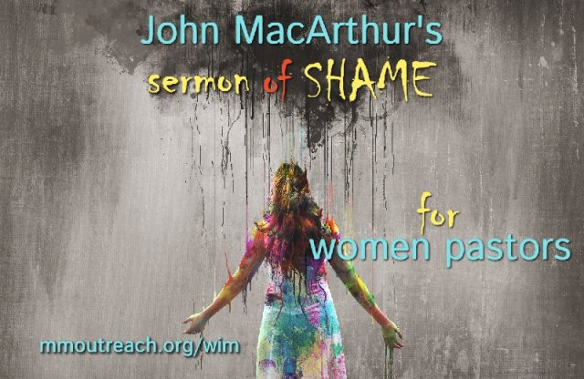 Are women pastors shameful? Answering John MacArthur