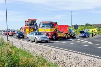 2016-07-21 10:14, Trafikolycka, Ystad Två personbilar i kollision, väg 19, Stora Herrestad. Två personbilar kolliderar på väg 19, i höjd med Stora Herrestad. Skadeläget är inledningsvis okänt. Polis, ambulans och räddningstjänst åker till platsen.