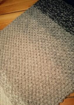 Schal mit Farbverlauf - Ombré Schal